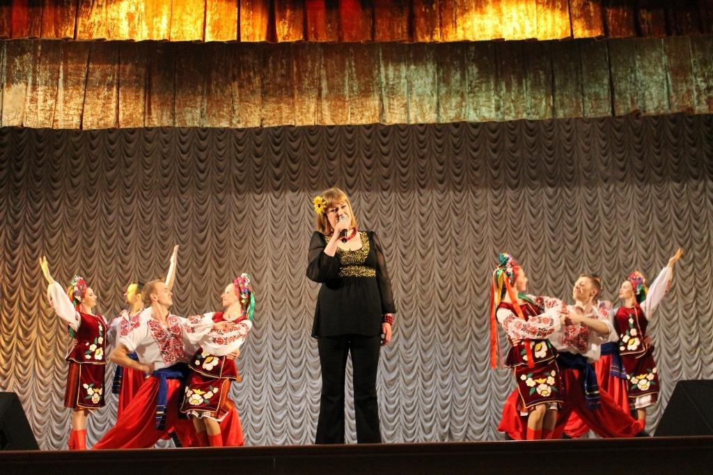 Концерт Київського академічного обласного музично-драматичного театру ім. П.К. Саксаганського